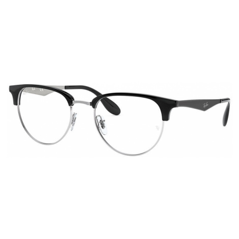 Ray-Ban Rb6396 Man Optical Lenses: Multicolor, Frame: Black - RB6396 2932 53-19