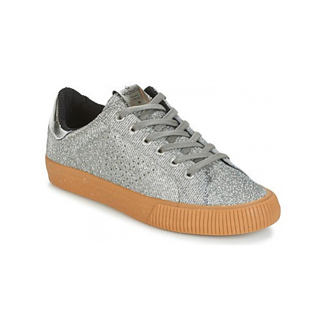 Victoria DEPORTIVO LUREX women's Shoes (Trainers) in Silver