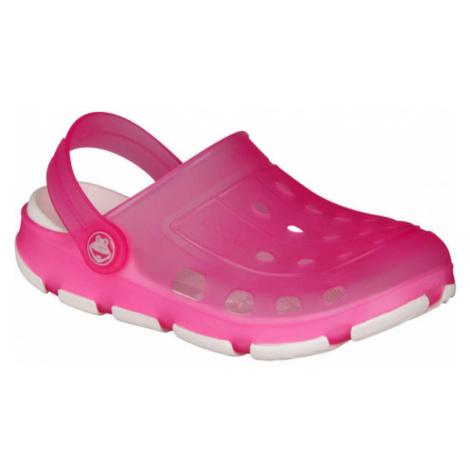 Coqui JUMPER FLUO pink - Children's sandals