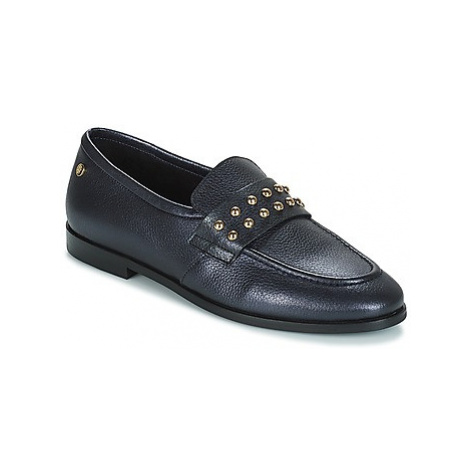 Tommy Hilfiger ROUND STUD LOAFER women's Loafers / Casual Shoes in Black