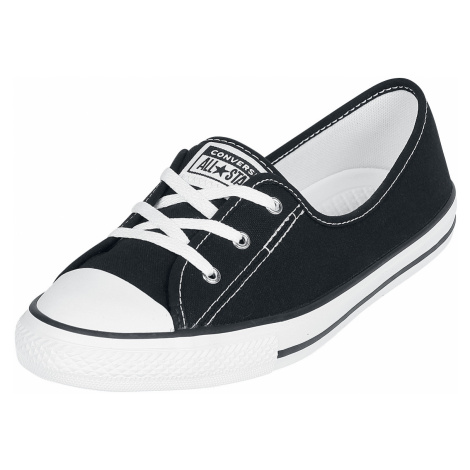 Converse - Chuck Taylor All Star Ballet Lace Slip - Sneakers - black