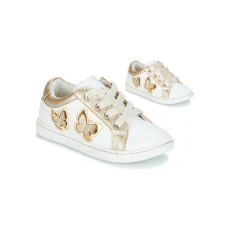Mod'8 PAKITA girls's Children's Shoes (Trainers) in White