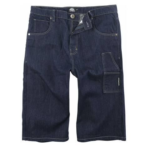 Southpole Denim Shorts with Tape Shorts blue