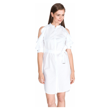 Pinko Allyson Dress White