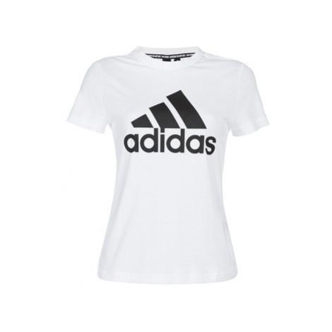 Adidas DZ0015 women's T shirt in White