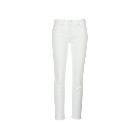 Lee ELLY women's Jeans in White