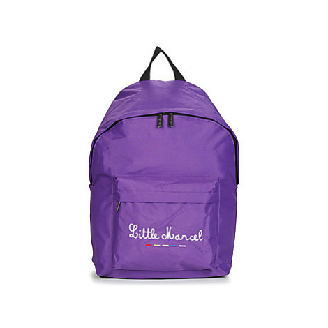 Little Marcel MARCELO girls's Children's Backpack in Purple