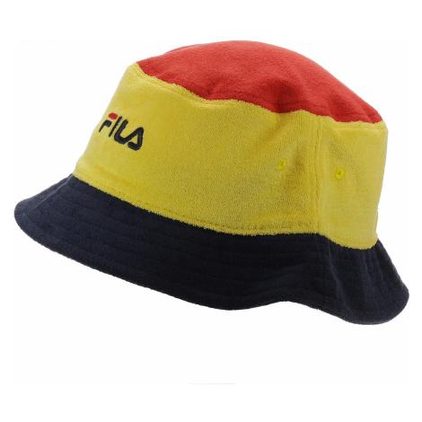hat Fila Blocked Bucket Hat - Empire Yellow/True Red/Black