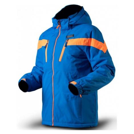 TRIMM SATO blue - Boys' ski jacket