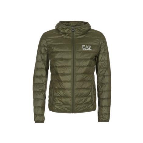 Green men's winter jackets