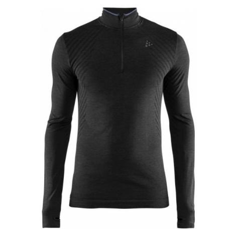 Craft FUSEKNIT COMFORT ZIP M black - Men's functional T-shirt