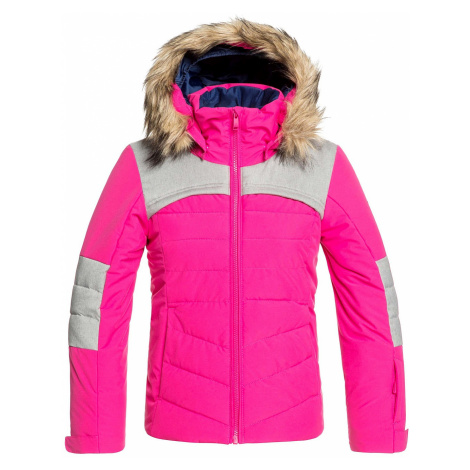 jacket Roxy Bamba - MML0/Beetroot Pink - girl´s