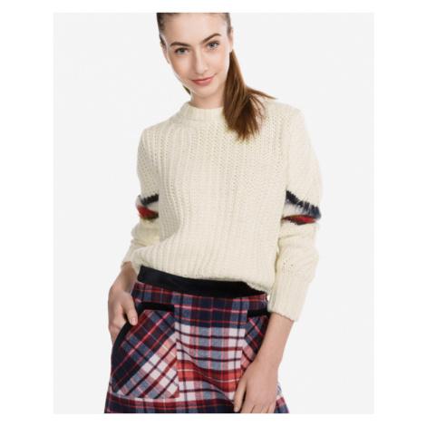 Tommy Hilfiger Amalie Sweater Yellow White