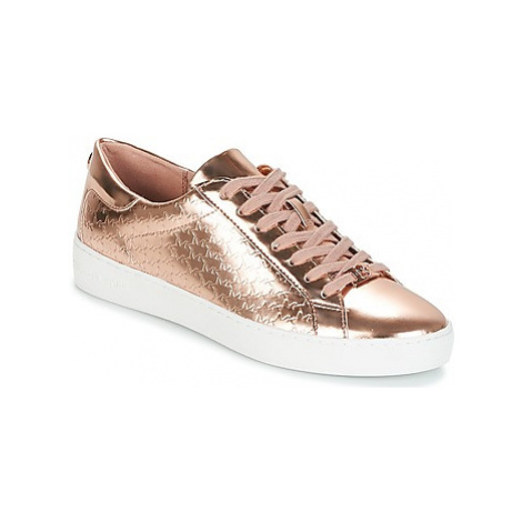 MICHAEL Michael Kors COLBY SNEAKER women's Shoes (Trainers) in Pink