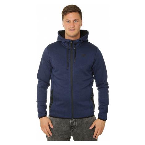 sweatshirt 4F H4L19-BLM007 Zip - 36M/Cobalt Melange - men´s
