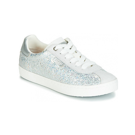 Geox J KILWI GIRL girls's Children's Shoes (Trainers) in Silver
