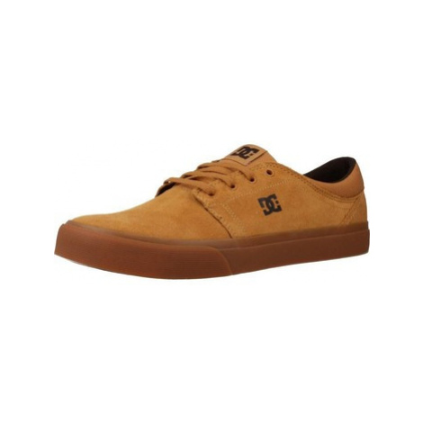 DC Shoes ADYS300172 men's Shoes (Trainers) in Yellow