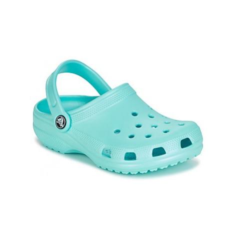 Crocs CLASSIC CLOG KIDS girls's Children's Clogs (Shoes) in Blue