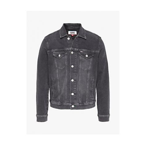 Tommy Jeans Denim Trucker Jacket, Save PF Grey Tommy Hilfiger