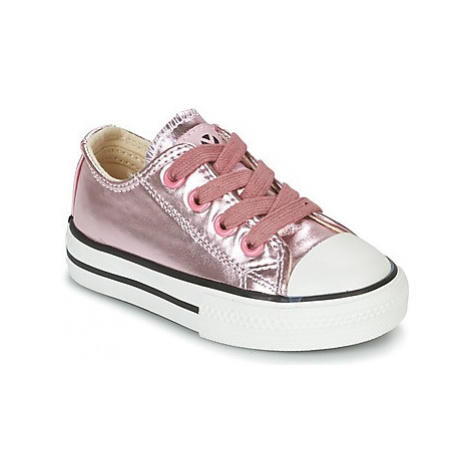 Victoria BASKET METALICO AUTOCLAVE KID girls's Children's Shoes (Trainers) in Pink