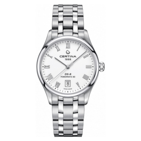 Ladies Certina DS-8 Powermatic 80 Automatic Watch C0334071101300
