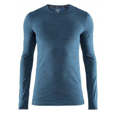 Craft FUSEKNIT COMFORT LS blue - Men's functional T-shirt