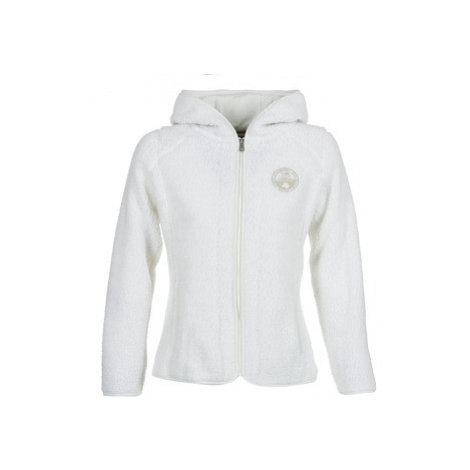 Napapijri YUPIK women's Fleece jacket in White