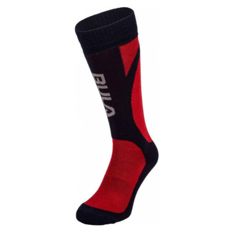 Bula SMOKE SKI SOCKS red - Ski socks