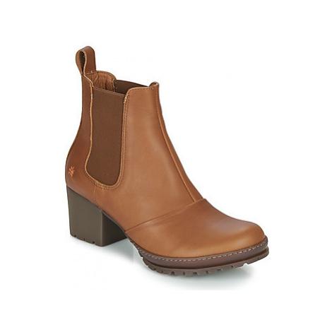 Art CAMDEN women's Low Ankle Boots in Brown