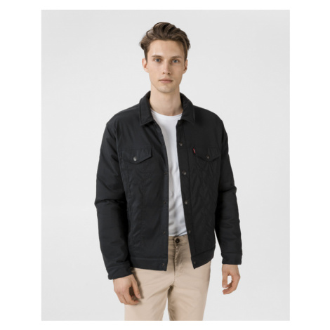 Levi's® Thermore Stretch Trucker Jacket Black Levi´s