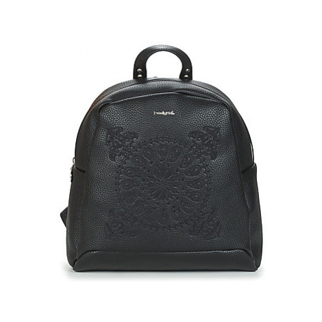 Desigual SOFT BANDANA VENICE MINI women's Backpack in Black