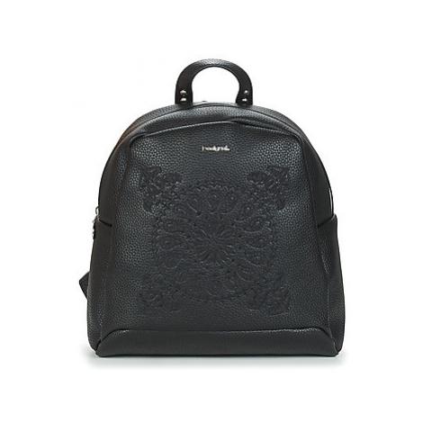 Desigual SOFT BANDANA VENICE MINI women's Backpack in Black