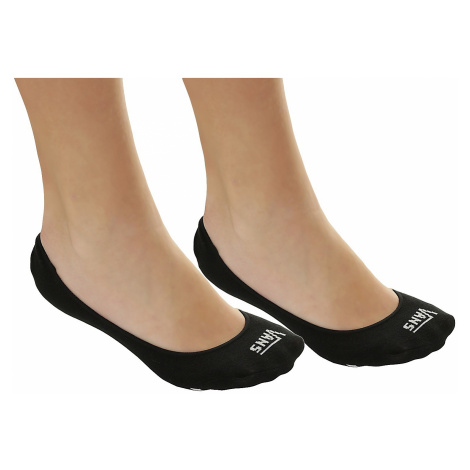 socks Vans Girly No Snow 2 Pack - Black/White