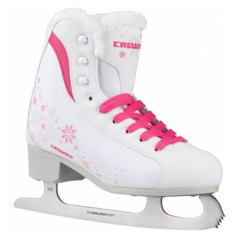 Crowned GLAMOUR JR - Girls' ice skates