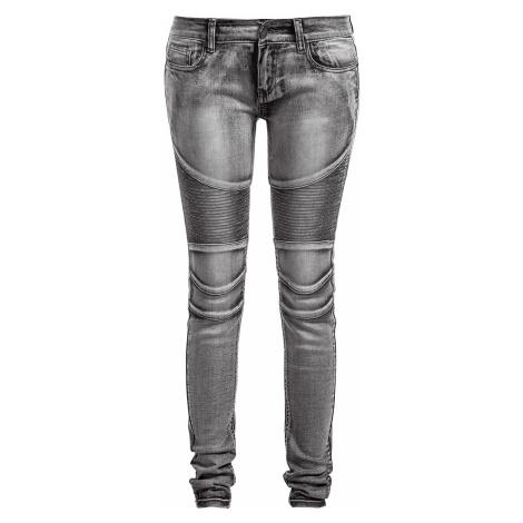 Forplay - Biker Pants - Girls jeans - grey