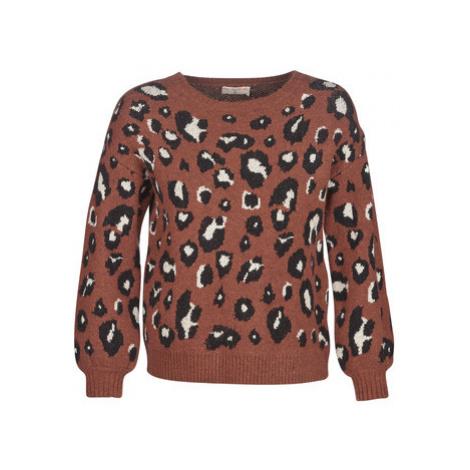 Moony Mood JANTU women's Sweater in Brown