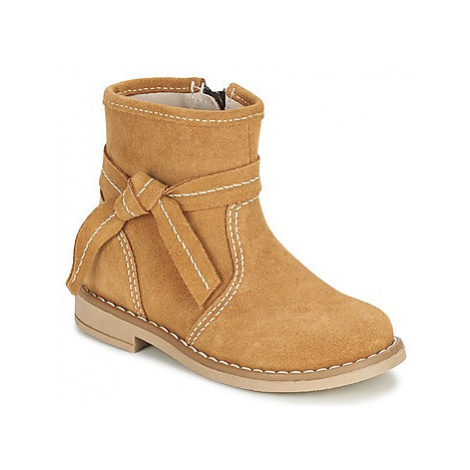 Citrouille et Compagnie SULY boys's Children's Mid Boots in Beige