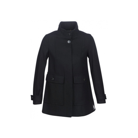 Benetton MARTINO women's Coat in Black United Colors of Benetton