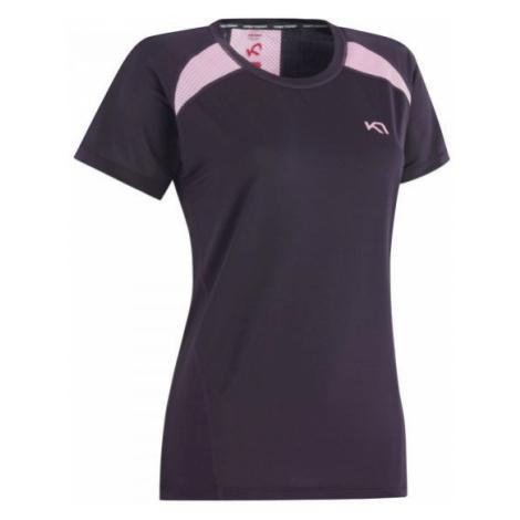 KARI TRAA TINA TEE brown - Women's sports T-shirt