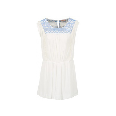 Moony Mood EBENE women's Dress in White