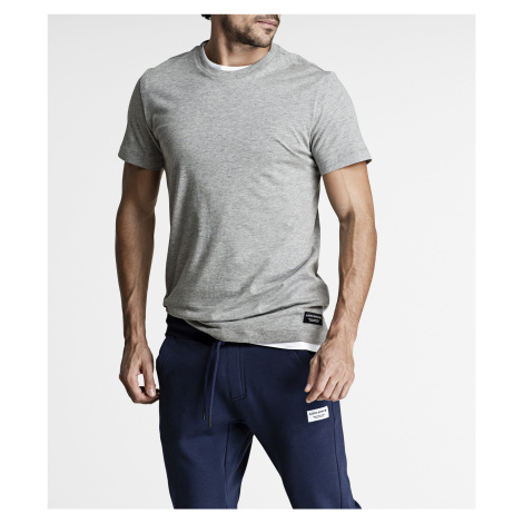 CENTRE REGULAR TEE H108BY LIGHT GREY MELANGE Bjorn Borg