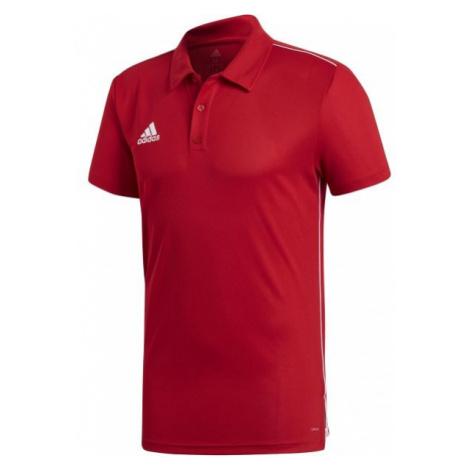 adidas CORE18 POLO red - Polo shirt