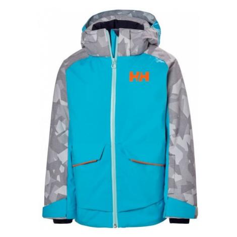 Helly Hansen JR STARLIGHT JACKET blue - Kids' skiing jacket