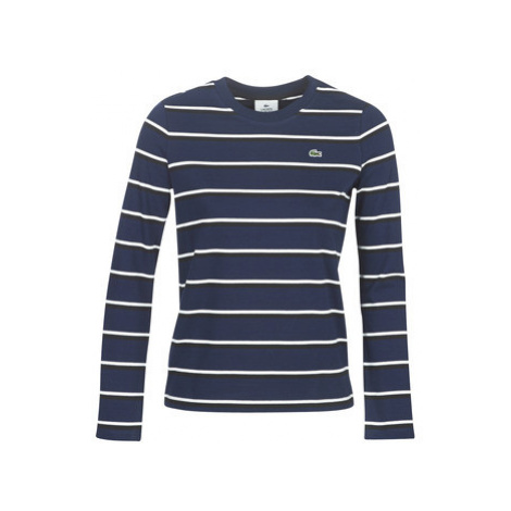 Lacoste TF8212 women's T shirt in Blue