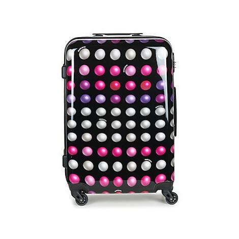 David Jones FREDEGAR 57L men's Hard Suitcase in Multicolour