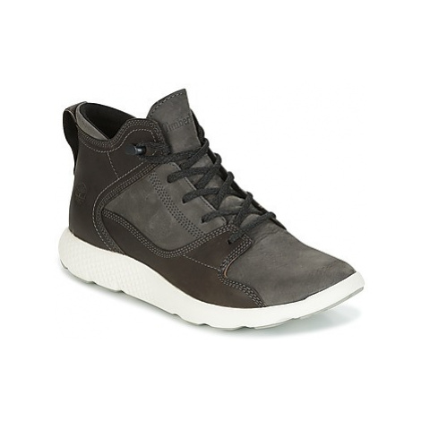 Timberland FLYROAM LEATHER HIKER men's Shoes (High-top Trainers) in Black