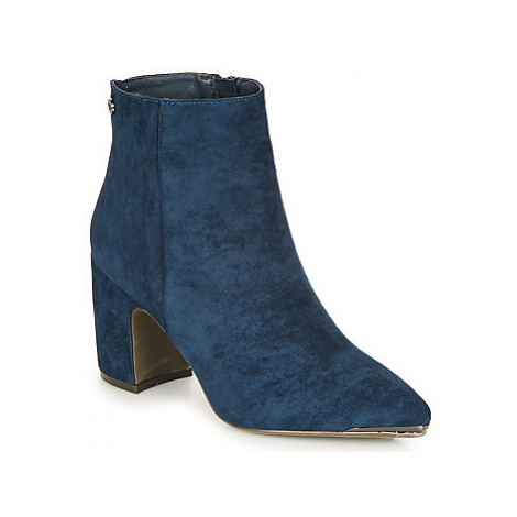 Xti MARTINE women's Low Ankle Boots in Blue