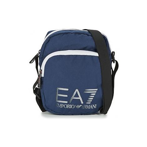 Emporio Armani EA7 TRAIN PRIME U POUCH BAG SMALL B men's Pouch in Blue