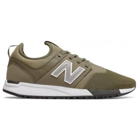 New Balance 247 Shoes - Triumph Green/Silver
