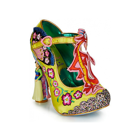 Irregular Choice LET YOUR TRUE SELF SHINE women's Court Shoes in Yellow